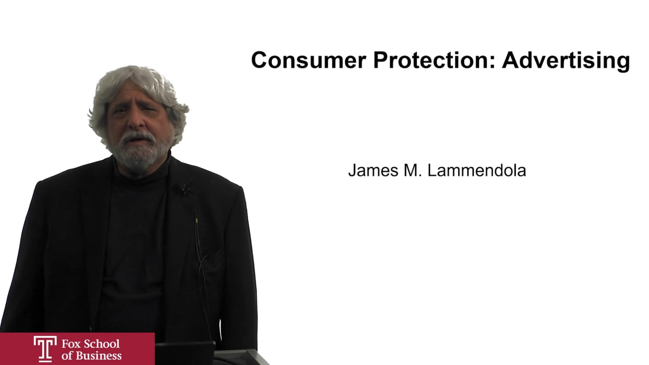 61943Consumer Protection: Advertising