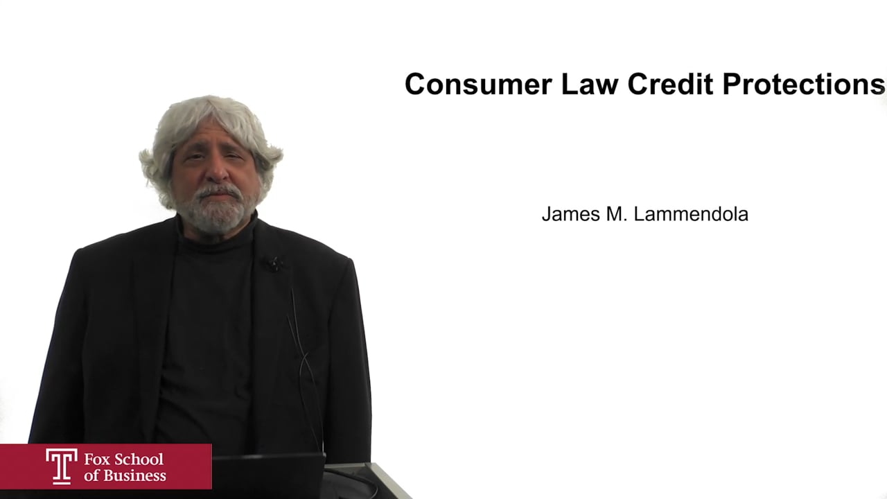 61942Consumer Law Credit Protections