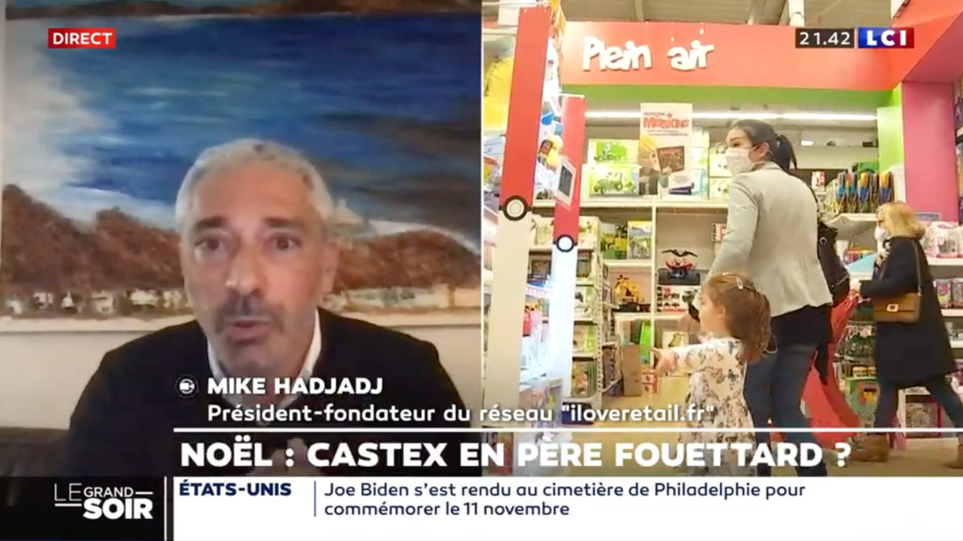 Noël : Castex en Père Fouettard ?