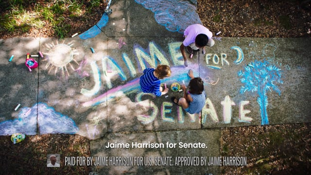 "Jaime Harrison for Senate (US - South Carolina) 2020 - ""Inspire"""