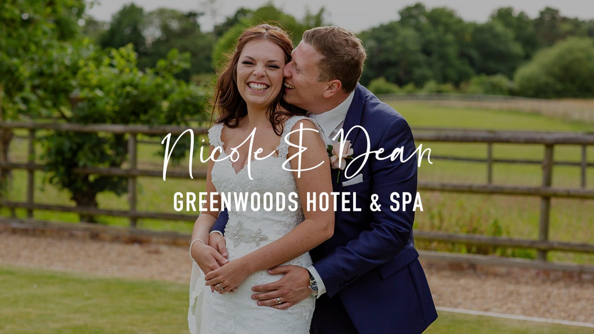 Nicole & Dean - Greenwoods Hotel & Spa