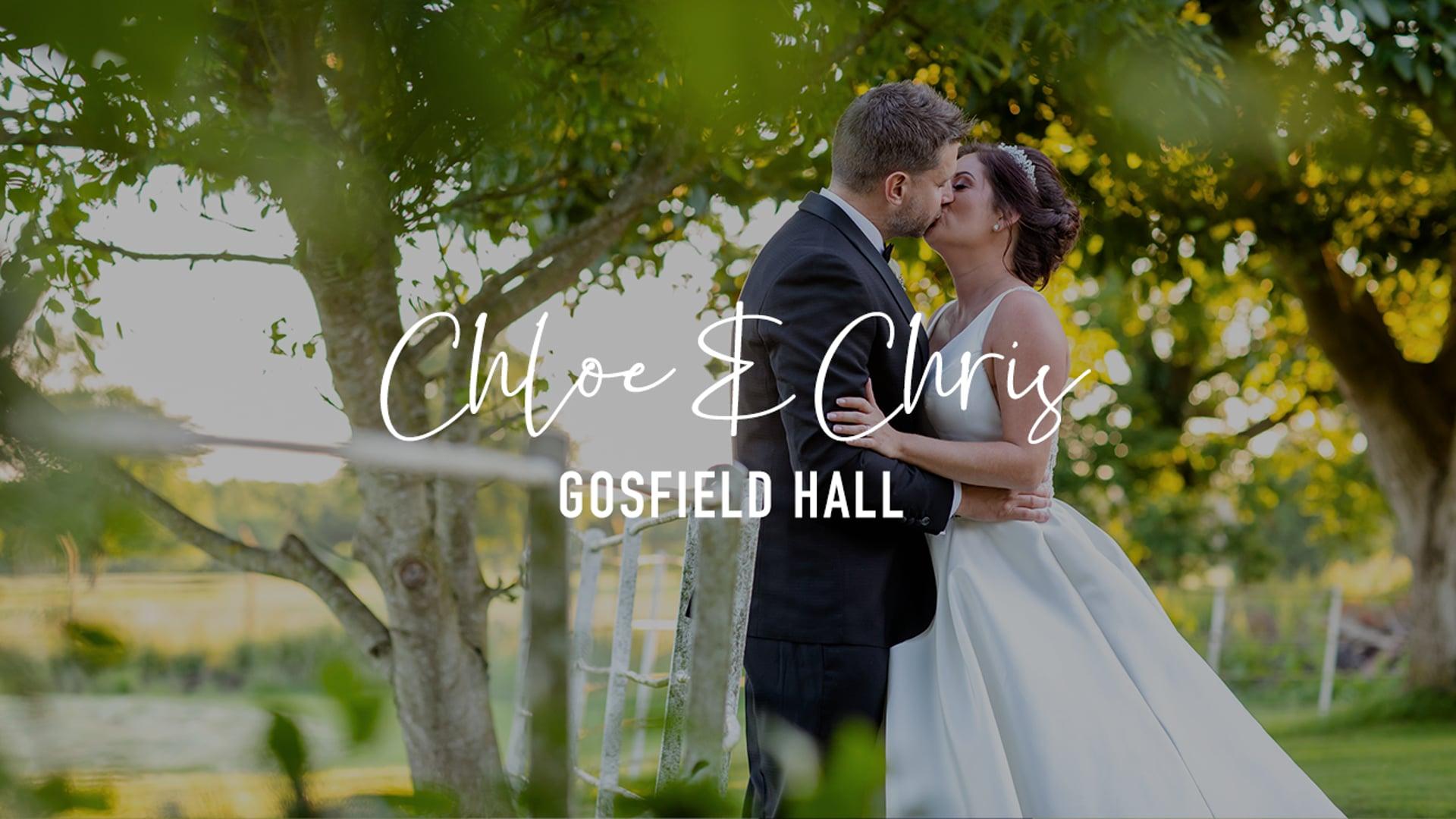 Chloe & Chris - Gosfield Hall