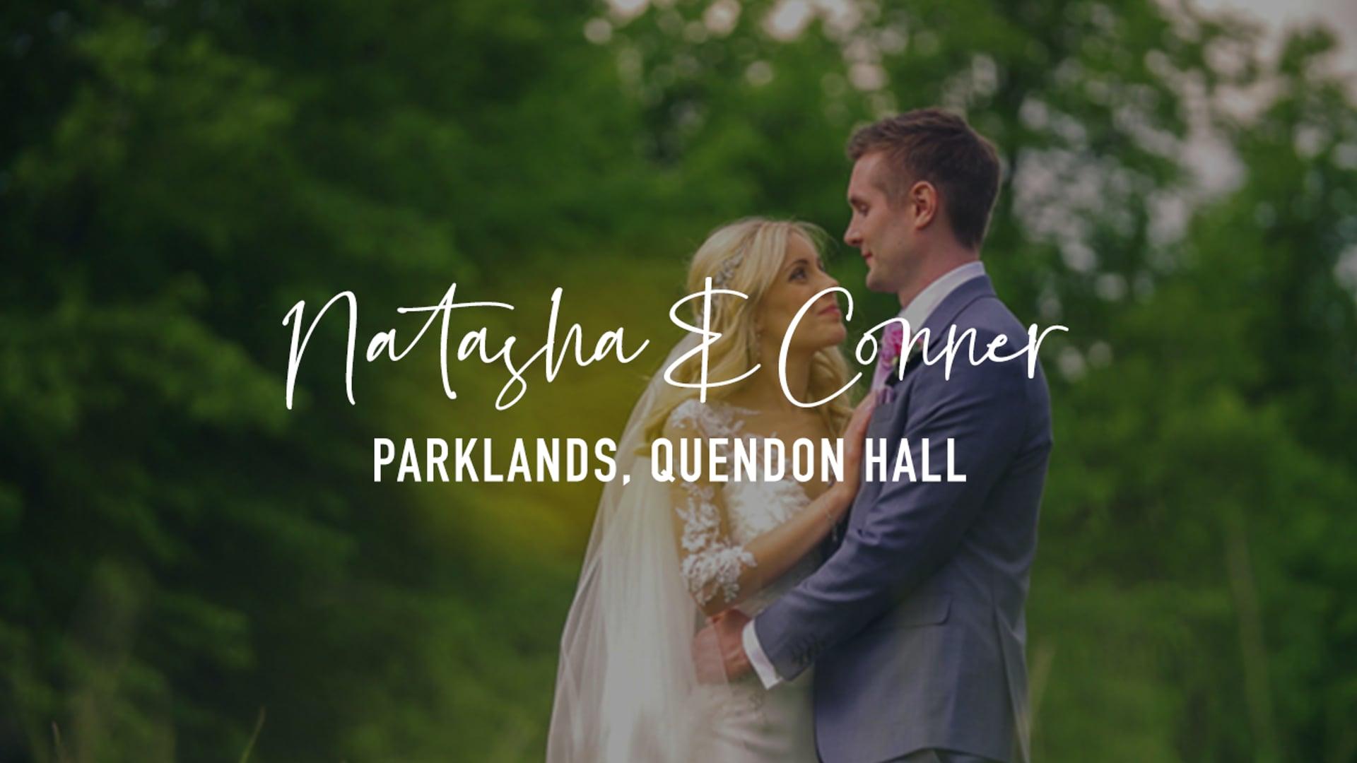 Natasha & Conner - Parklands Quendon Hall