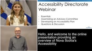 Accessibility Directorate - Webinar - NS