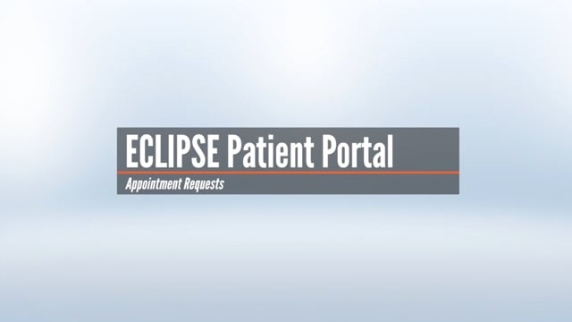 Patient Portal – Appointment Requests