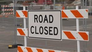 University Parks Drive Closed