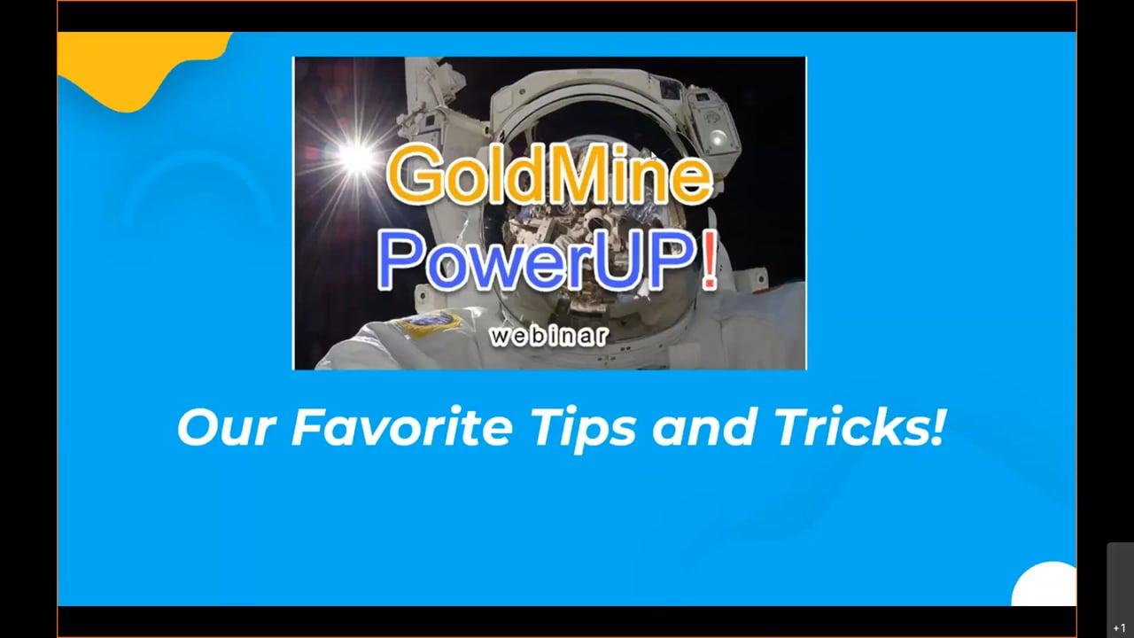 Nov PowerUP! - Tips & Tricks