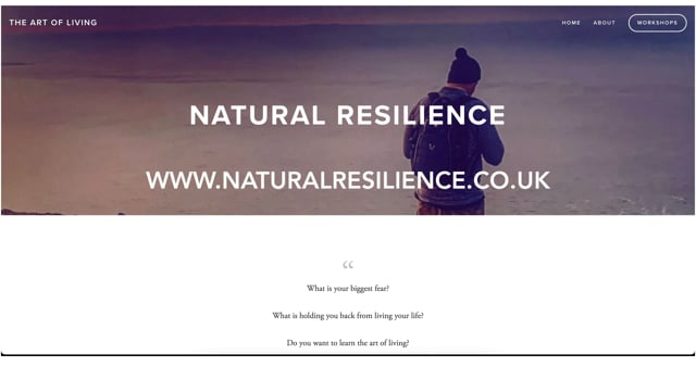 Natural Resilience Promo