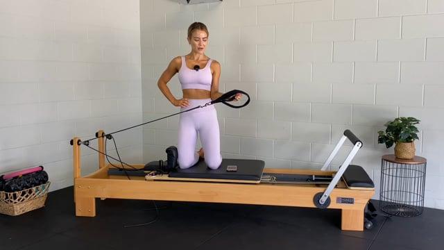 20min beginner/pregnancy safe reformer workout