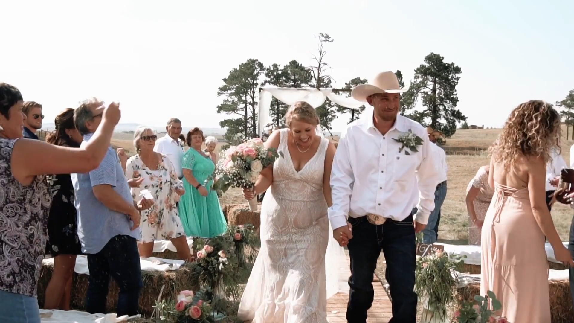 Mikinsie & Dustin's Colorado Springs Wedding Ceremony