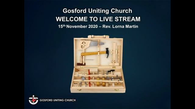 15th November 2020 - Rev. Lorna Martin