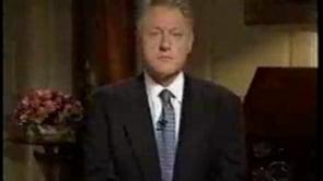 Two Bill Clinton Videos