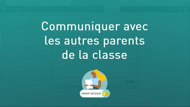Communiquer avec les autres parents de la classe (quand on est parent délégué)