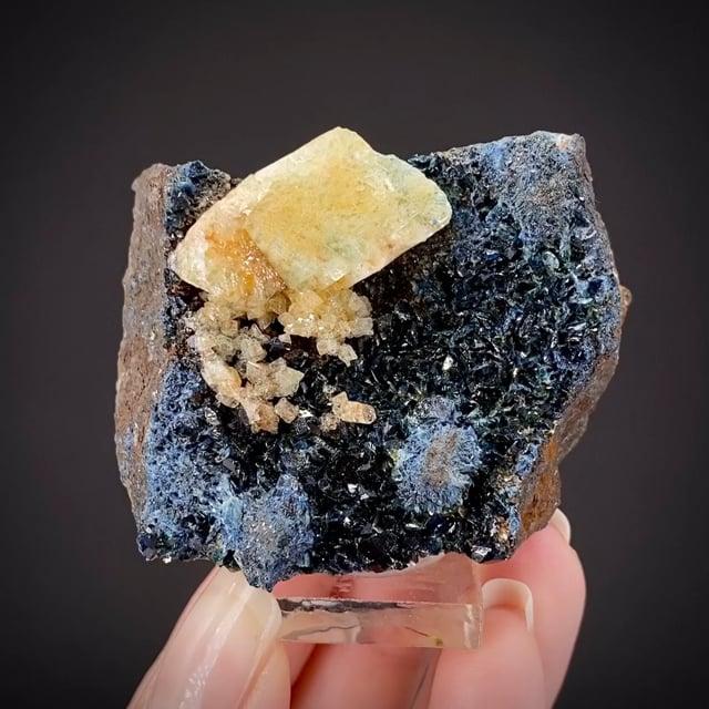 Augelite on Lazulite