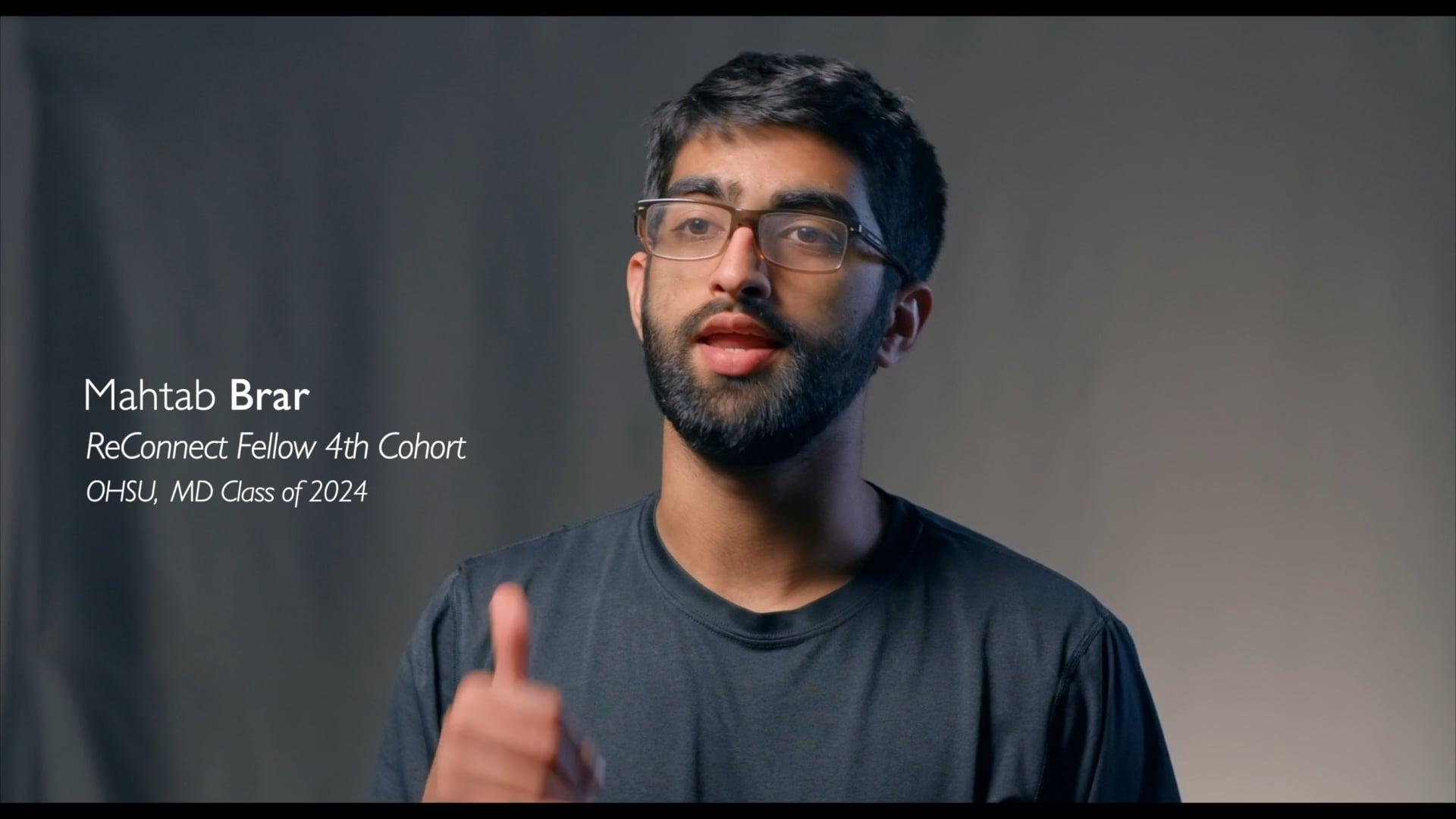 ReConnect Interviews: Mahtab Brar (Scribing in an FQHC)