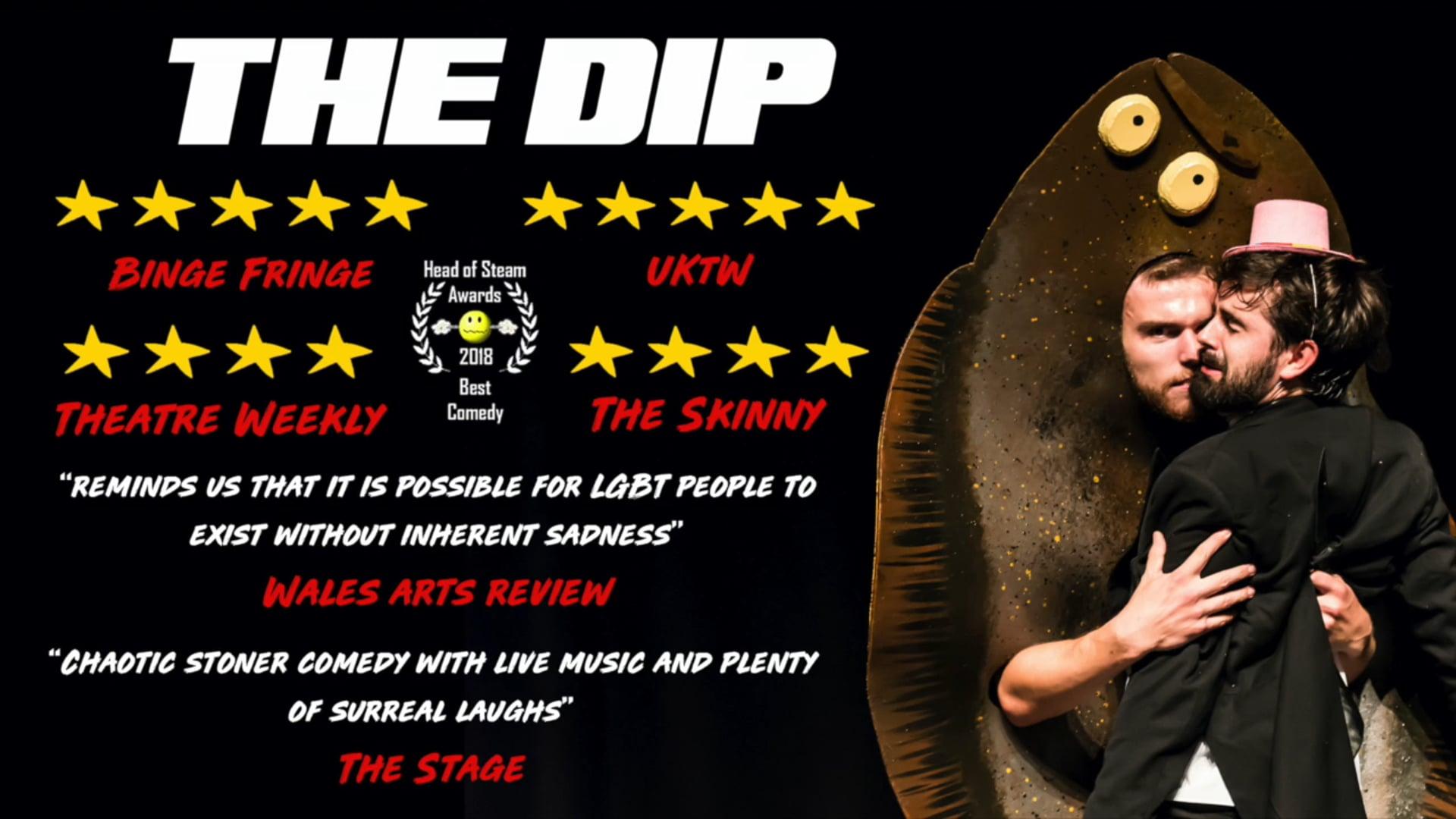 THE DIP promo material