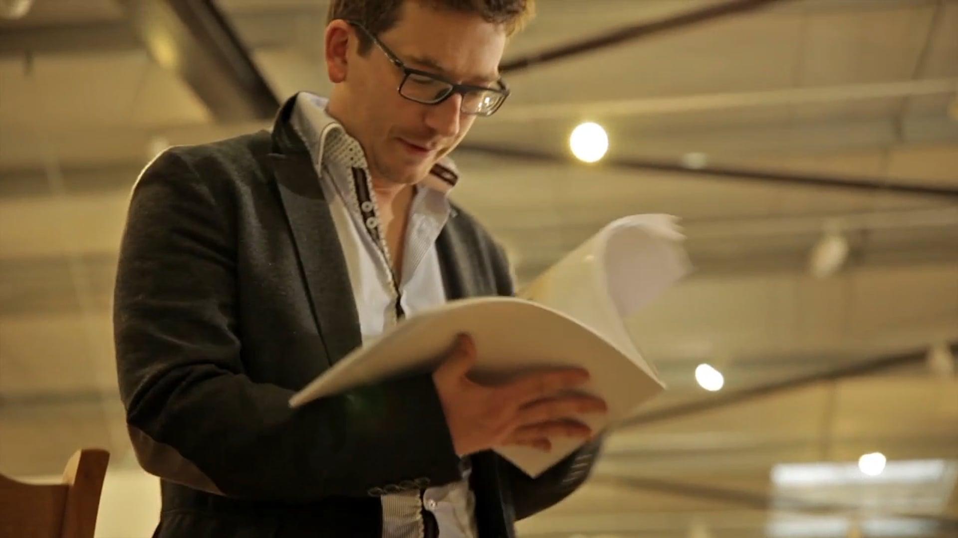 Portrait Nicolas Aubin, entrepreneur déco-ameublement