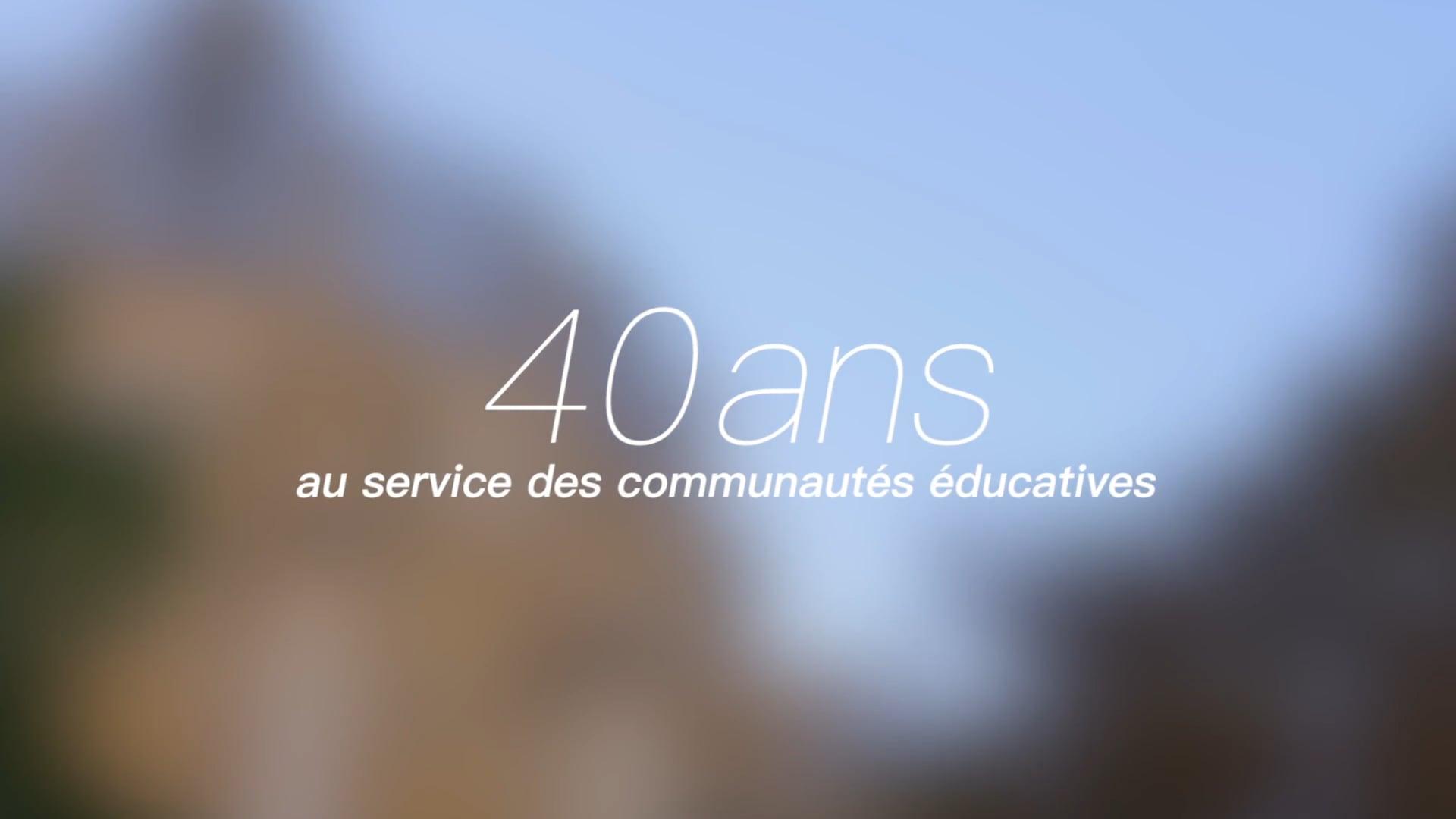 IFEAP, 40 ans au service des communautés éducatives