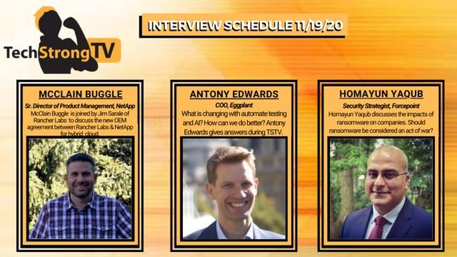 TechStrong TV - November 19, 2020