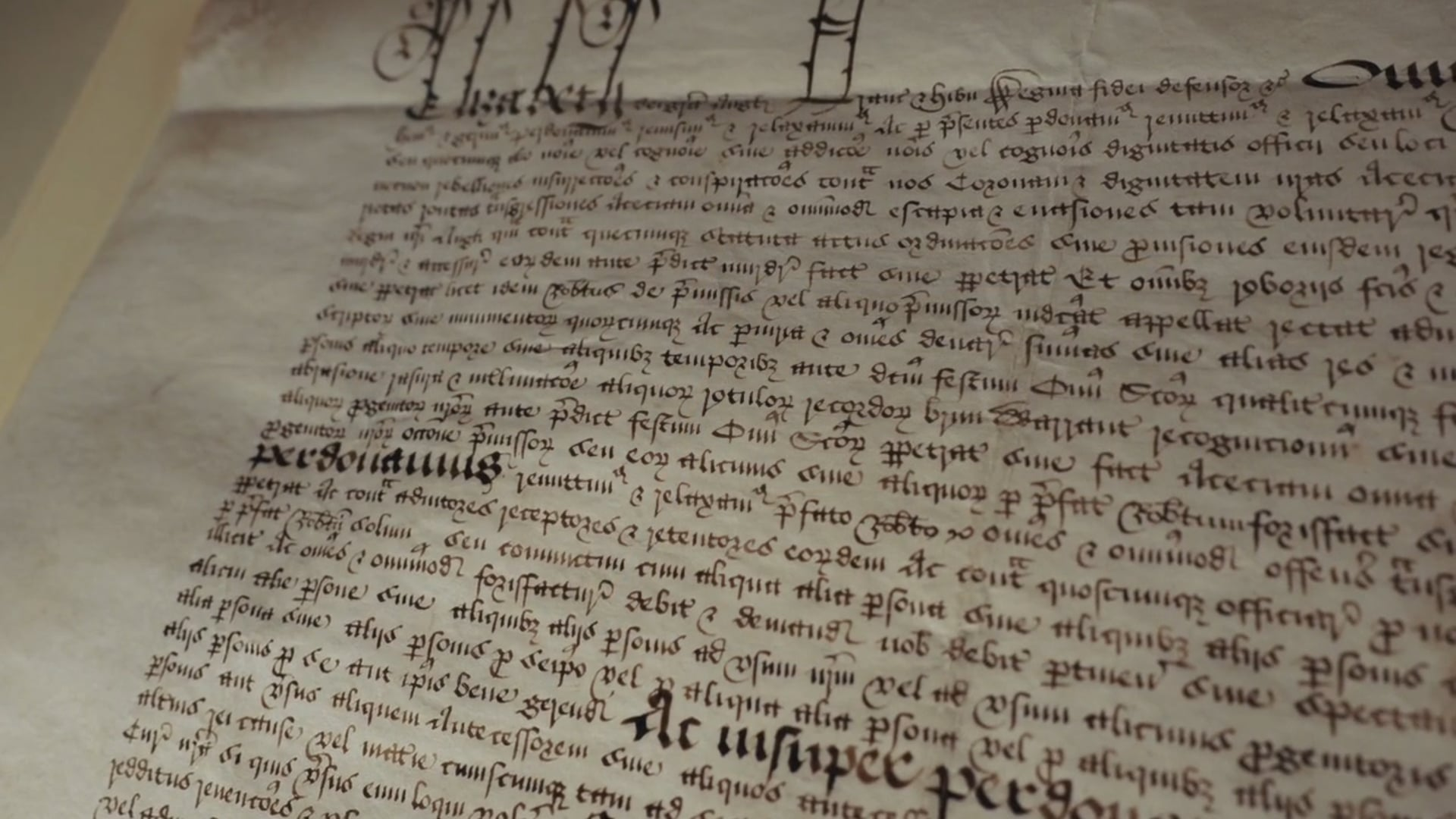 Agecroft's Elizabethan Pardon
