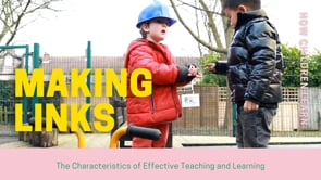 Watch Creating and thinking critically - Making links