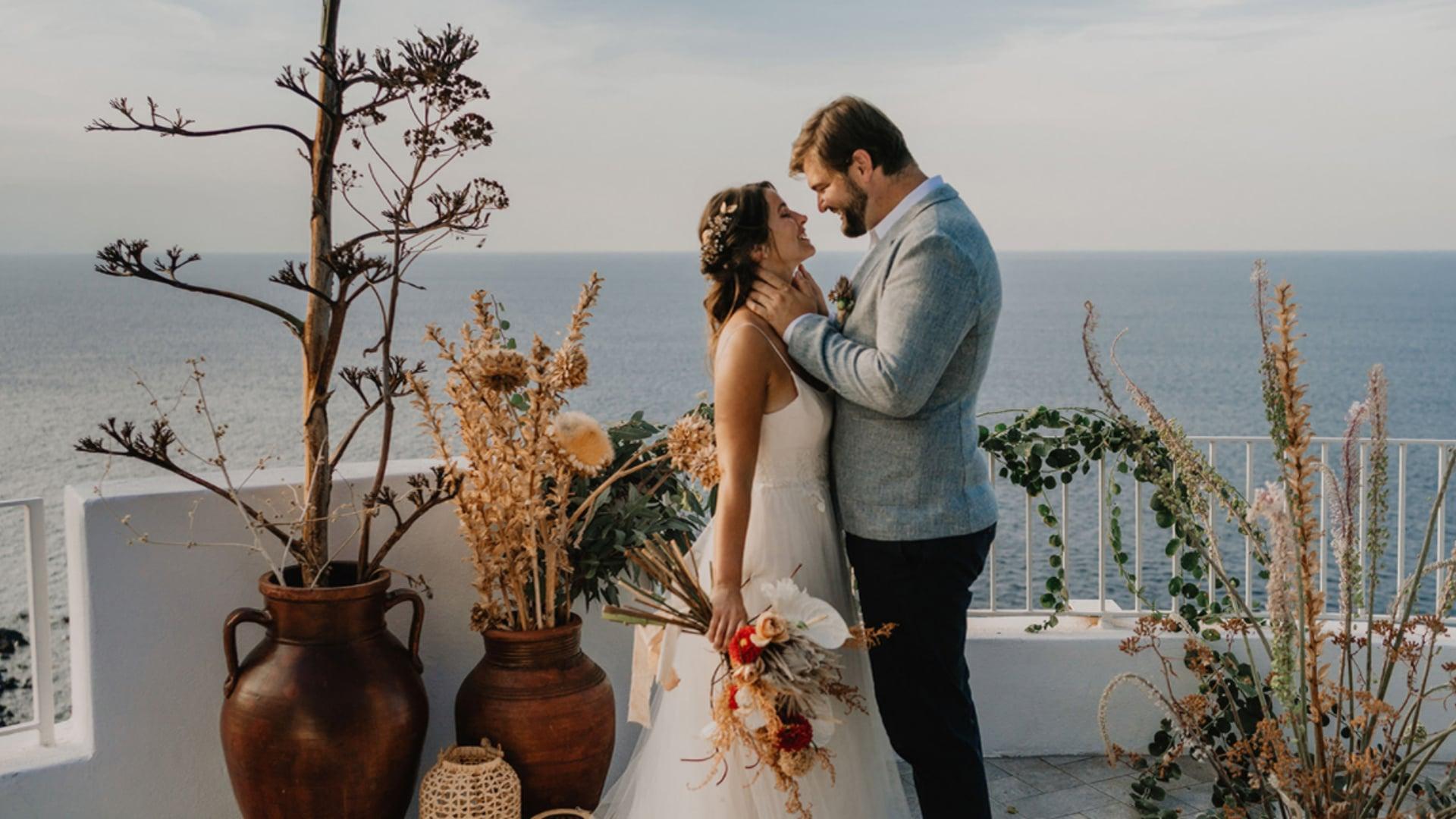 Salina Sicily // Elopement video