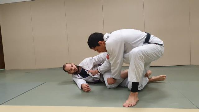 Passage de knee shield apres un knee slide