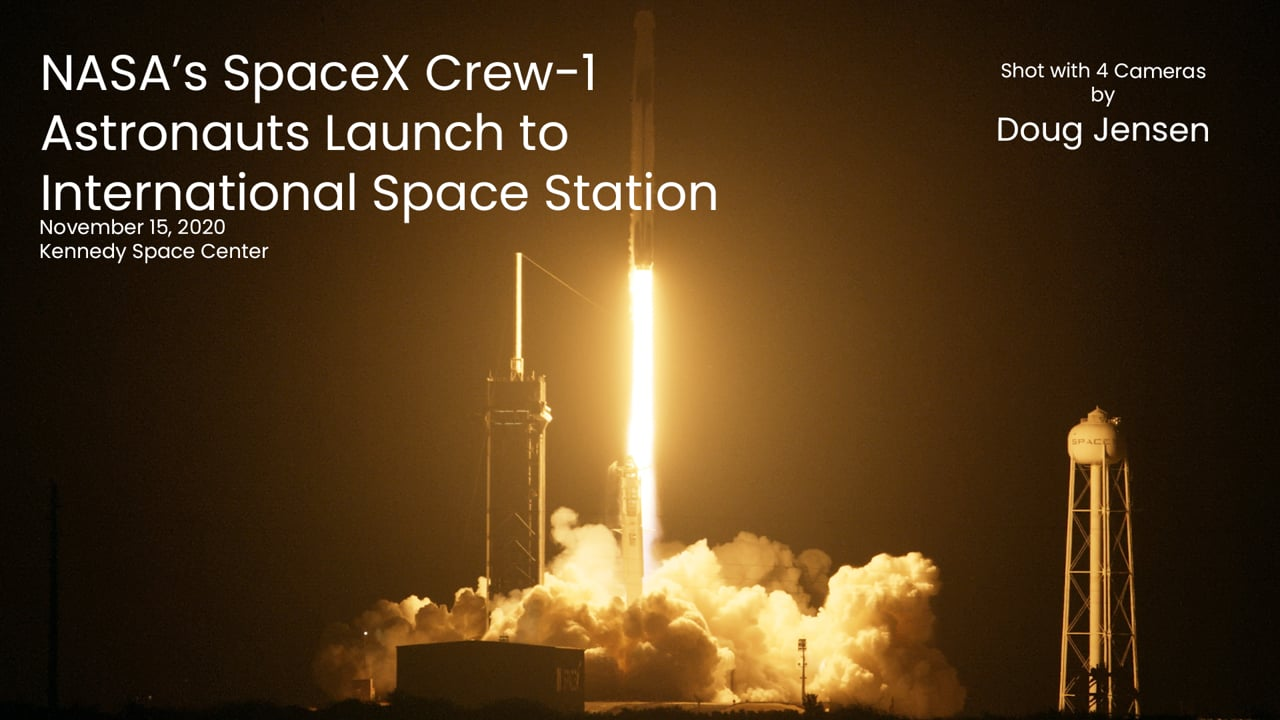 NASA's SpaceX Crew-1 Astronauts Launch to International Space Station