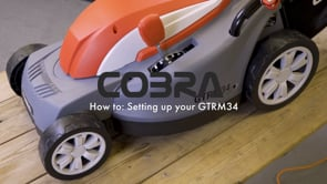 COBRA GTRM34 Electric Lawnmower