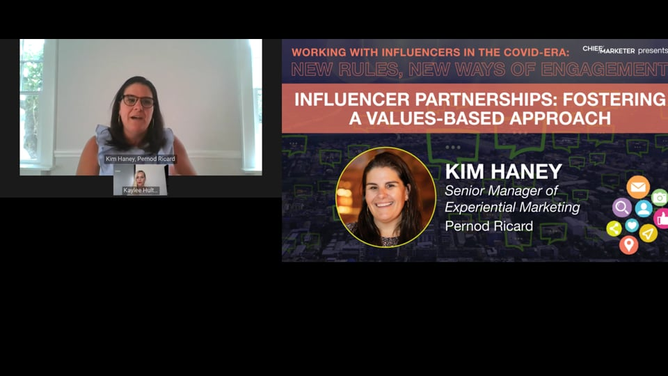 SESSION 1: INFLUENCER PARTNERSHIPS: FOSTERING A VALUES-BASED APPROACH