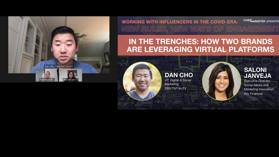 SESSION 2: IN THE TRENCHES: HOW TWO BRANDS ARE LEVERAGING VIRTUAL PLATFORMS