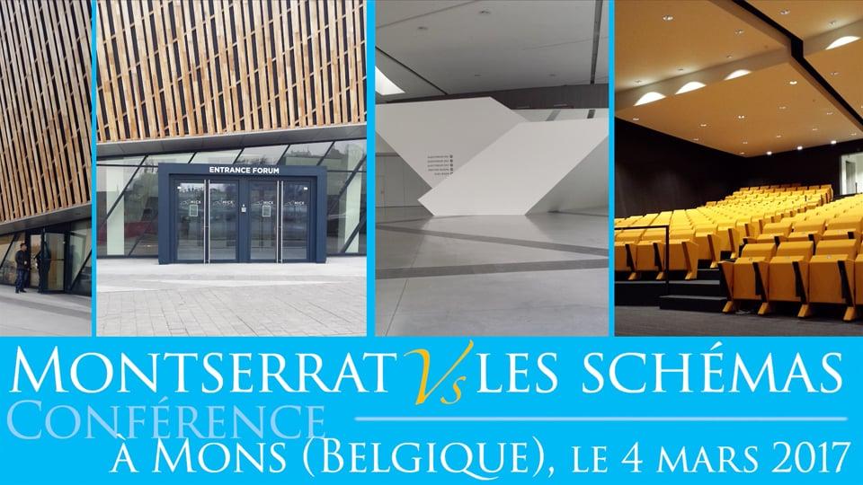Conférence de Montserrat Gascon à Mons (Belgique – 2017)