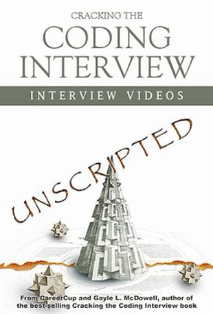 watch cracking the coding interview unscripted interview videos