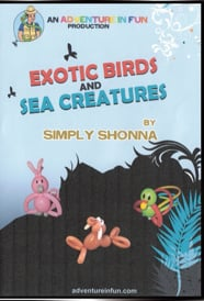 Exotic Birds and Sea Creatures