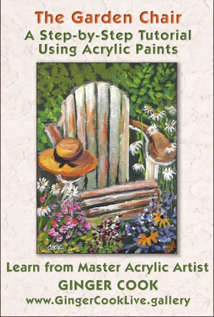 watch the garden chair step by step acrylic painting tutorial rh vimeo com
