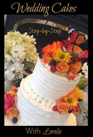 step by step wedding cake wedding cakes with lorelie step by step 20527