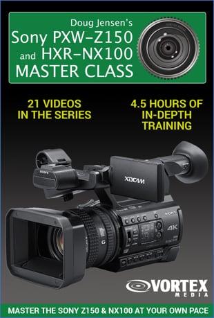 Watch Doug Jensen's Sony PXW-Z150 & HXR-NX100 Master Class Online | Vimeo  On Demand