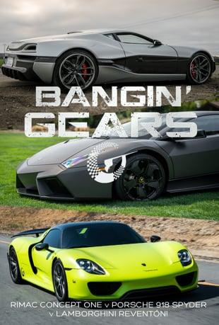 Watch LAMBORGHINI REVENTÓN v RIMAC CONCEPT ONE v PORSCHE 918 SPYDER AT CAR  WEEK! BANGIN' GEARS - Episode 4 Online | Vimeo On Demand