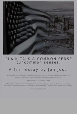 Watch Plain Talk  Common Sense Online  Vimeo On Demand On Vimeo Watch On Ios Android Apple Tv Roku And Chromecast Learn More