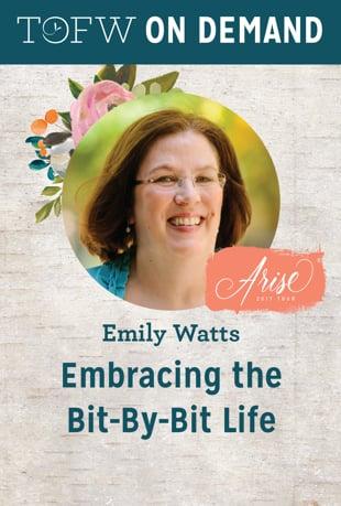 Watch Embracing the Bit-by-Bit Life | Emily Watts Online | Vimeo On Demand