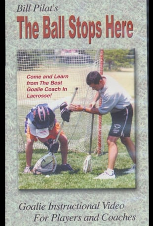 Watch The Ball Stops Here Lacrosse Goalie Instruction Online Vimeo On Demand