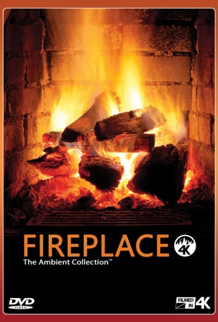 Watch Fireplace In 4K Filmed In Ulra High Definition With