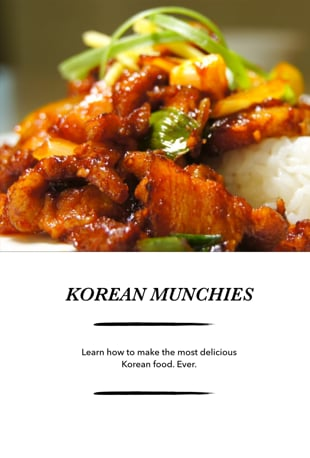 Watch authentic korean cuisine cooking online vimeo on for Authentic korean cuisine